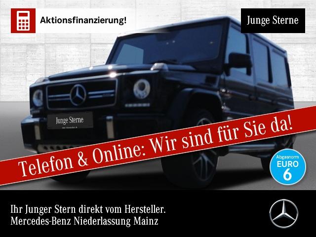 Mercedes-Benz G 63 AMG Exkl-Paket Driversp Stdhzg Harman Distr., Jahr 2017, Benzin