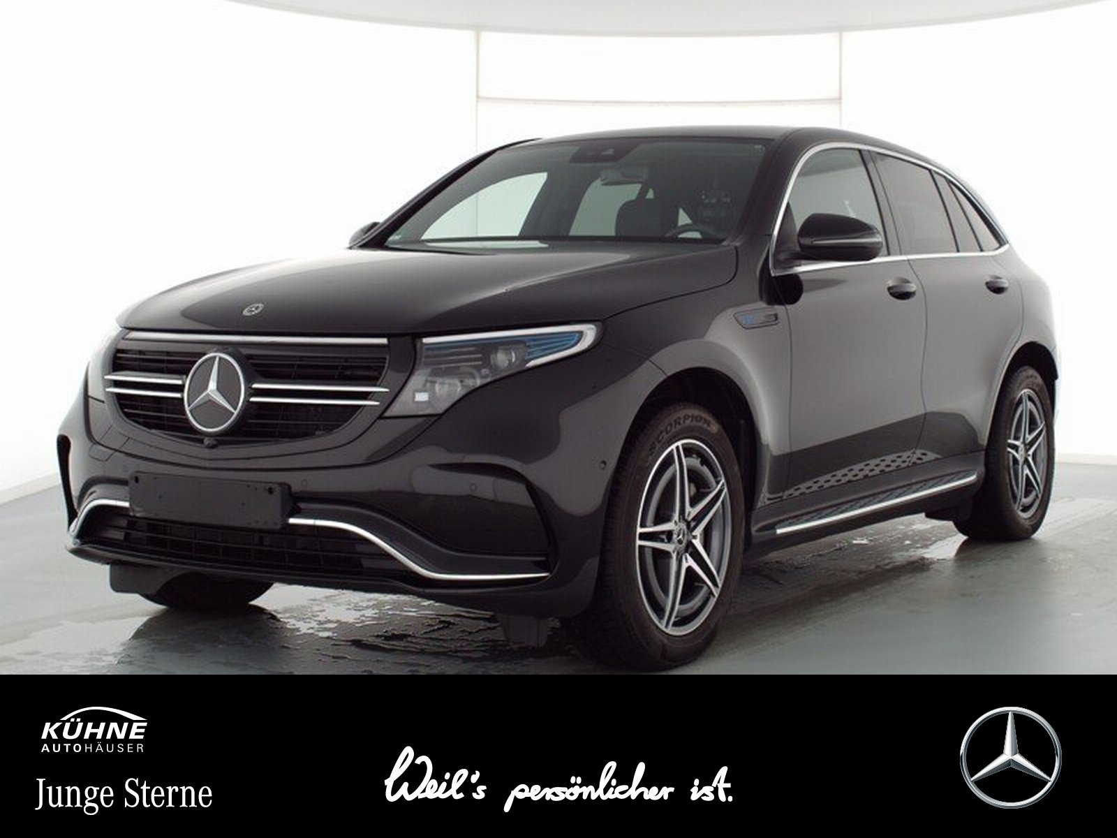Mercedes-Benz EQC 400 4M AMG+SHD+AIRBALANCE+DAB+2500 Bonus, Jahr 2020, Elektro