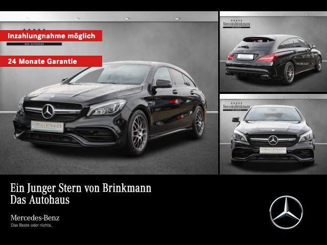 Mercedes-Benz Mercedes-AMG CLA 45 4MATIC AMG NIGHT PKT/LED/SHZ, Jahr 2016, petrol