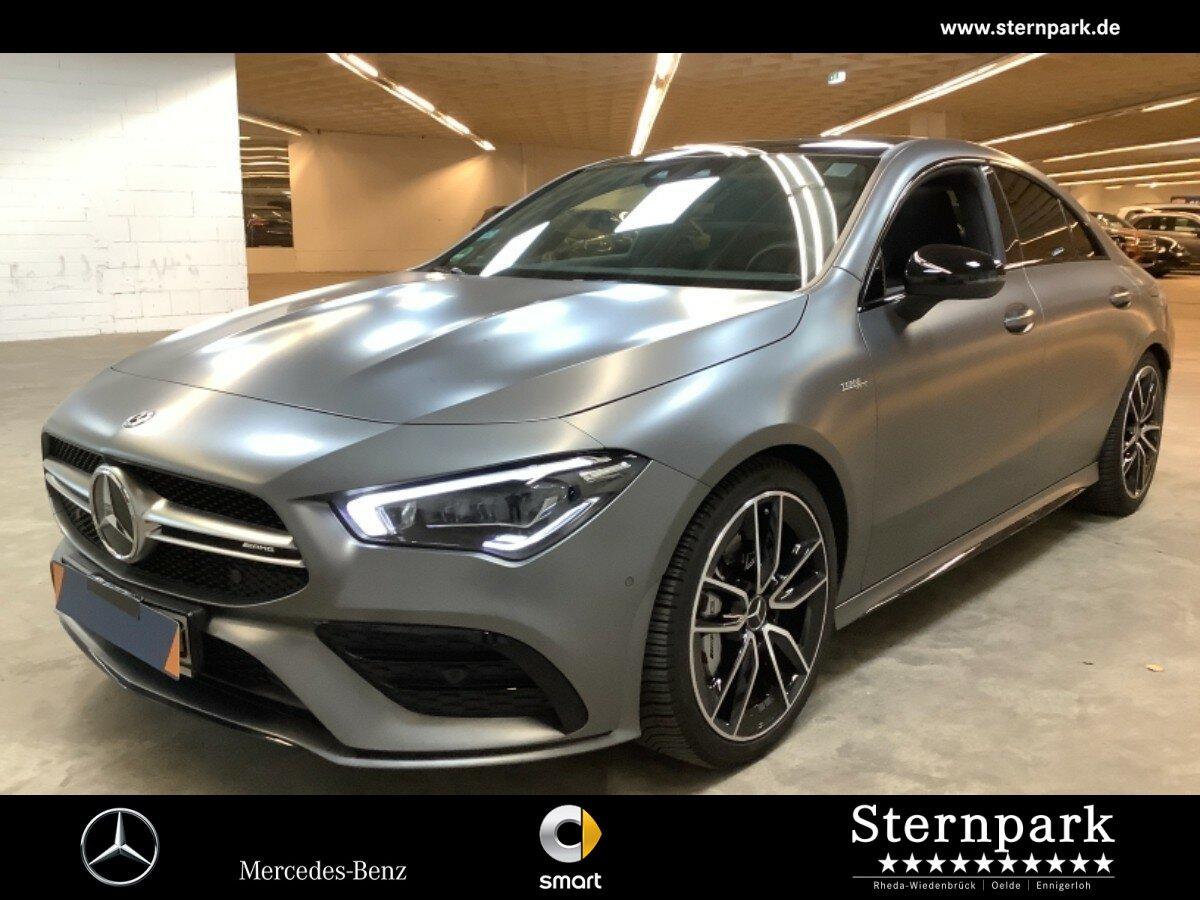 Mercedes-Benz CLA 35 AMG 4M Cp. Pano*Burmester*Night*NaviPrem, Jahr 2019, Benzin