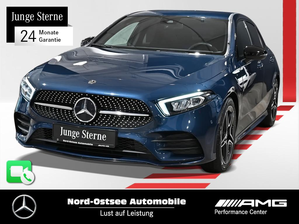 Mercedes-Benz A 200 AMG Navi Night LED MBUX Kamera Ambiente, Jahr 2020, Benzin