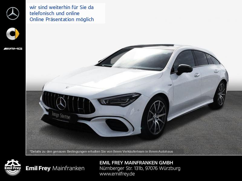 Mercedes-Benz CLA 45 AMG SB 4M+ TOP Ausstattung, Jahr 2019, Benzin