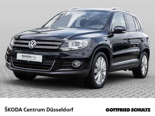 Volkswagen Tiguan 1 4 TSI DSG Sport & Style BMT *ParkAssist*Alcantara*18 Zoll*SHZ*NSW*, Jahr 2016, Benzin