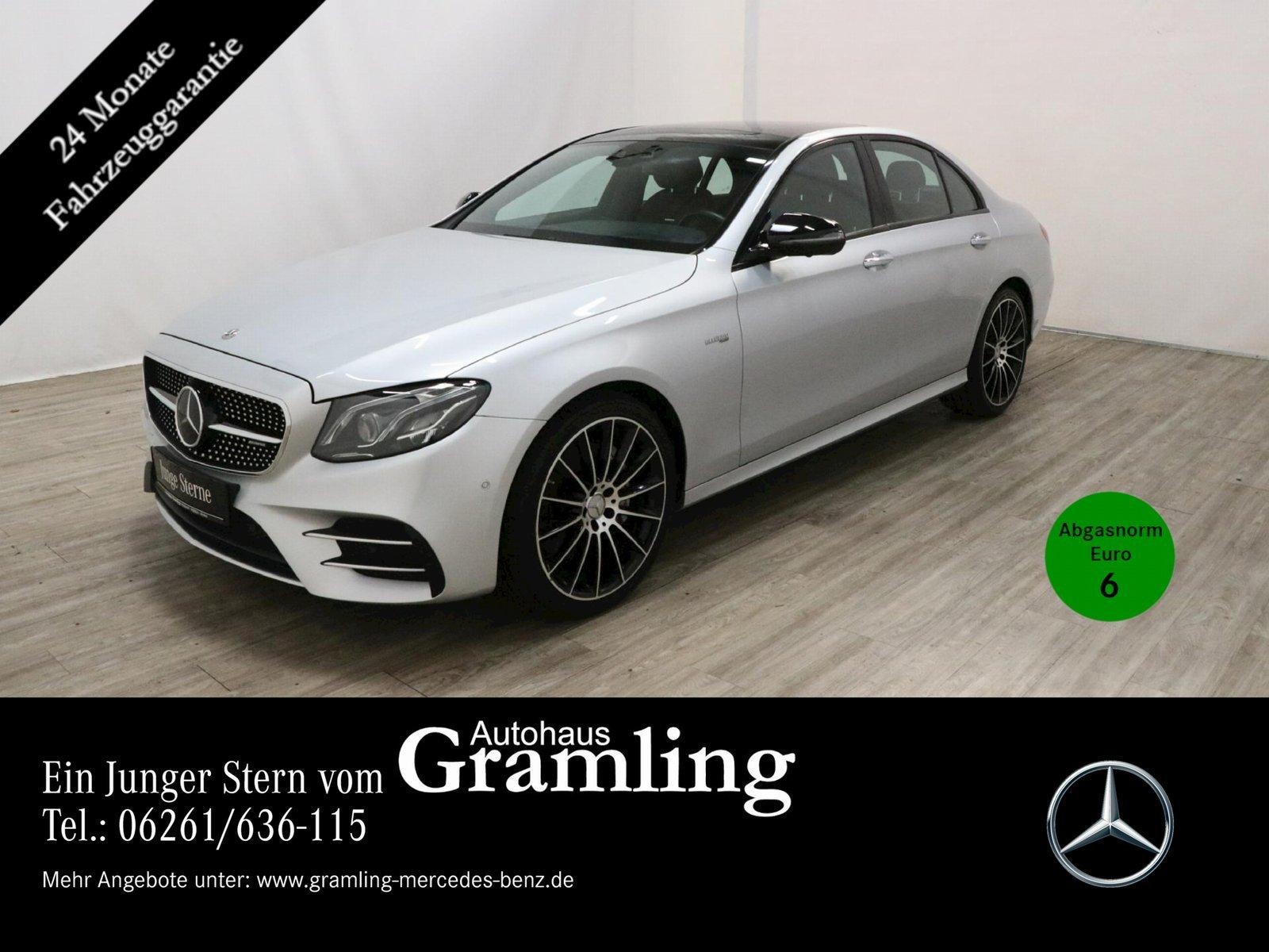 Mercedes-Benz E 43 AMG 4M MULTIBEAM*Distr*360°*HUD*Pano*Widesc, Jahr 2017, Benzin