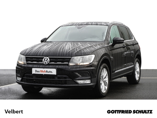 Volkswagen Tiguan 2.0 TSI DSG 4MOTION NAVI PANO RÜFA GRA SHZ Comfortline, Jahr 2017, Benzin