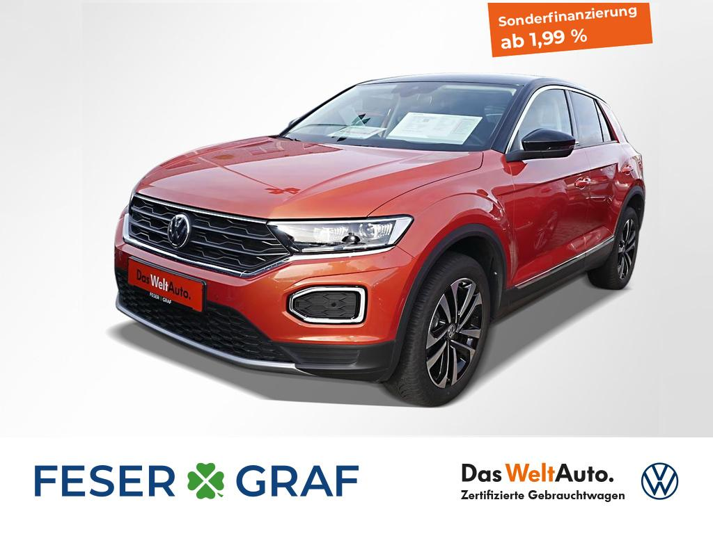 Volkswagen T-Roc United 1.5 TSI DSG Navi LED el.Klappe, Jahr 2020, Benzin