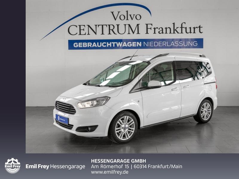 Ford Tourneo Courier 1.0 Titanium Sitz- Winter-Paket, Jahr 2016, Benzin