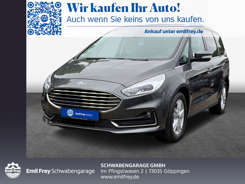 Ford Galaxy 1.5 EcoBoost S&S TITANIUM Navi RFK, Jahr 2020, Benzin