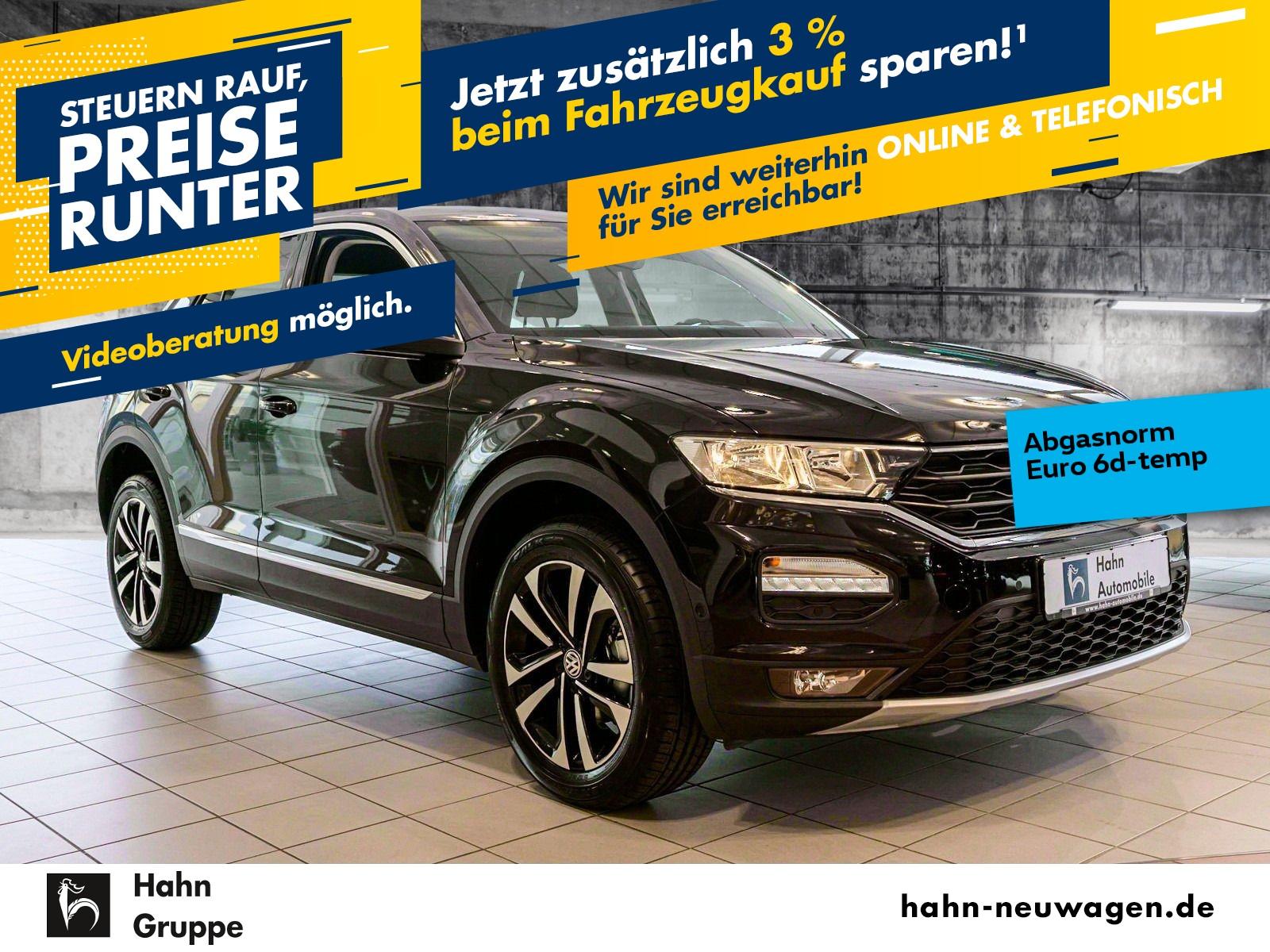 Volkswagen T-Roc IQ.DRIVE 1,0TSI OPF Navi ACC VZE Sitzkomfo, Jahr 2019, Benzin