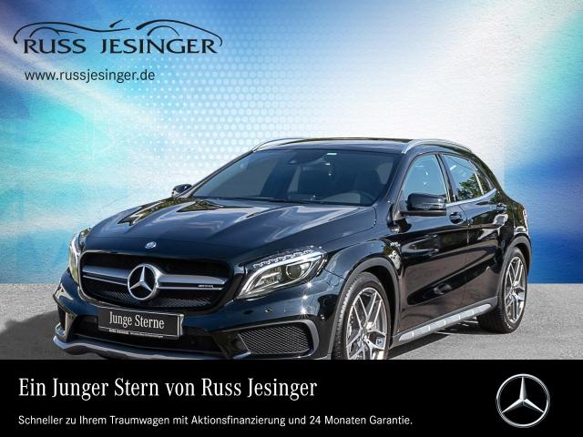 Mercedes-Benz GLA 45 AMG 4MATIC NAVI + SPUR-PAKET + KAMERA+ILS, Jahr 2015, petrol
