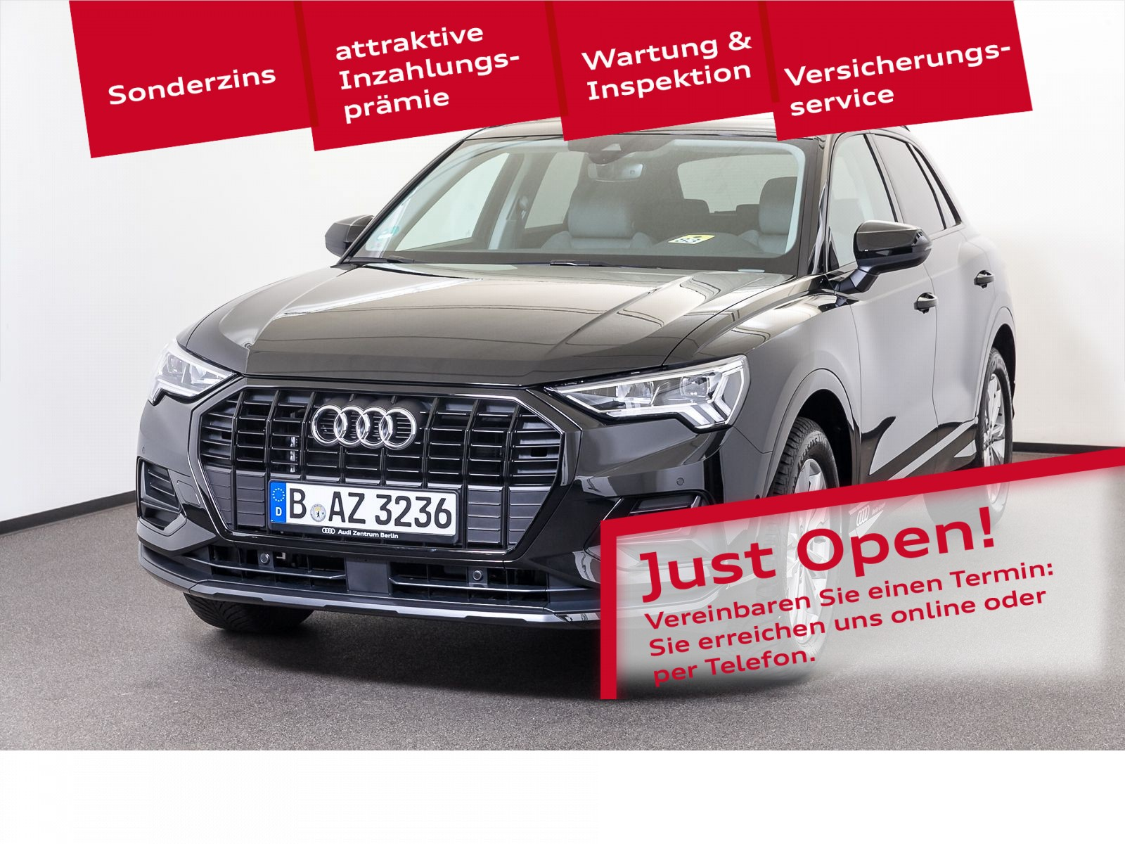 Audi Q3 advanced 35 TFSI S tronic, Jahr 2021, Benzin