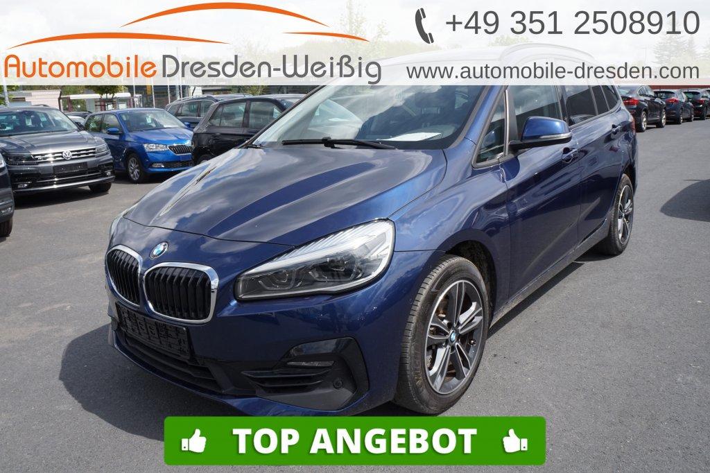 BMW 216 Gran Tourer i Sport Line*Navi*voll LED*PDC*, Jahr 2019, Benzin