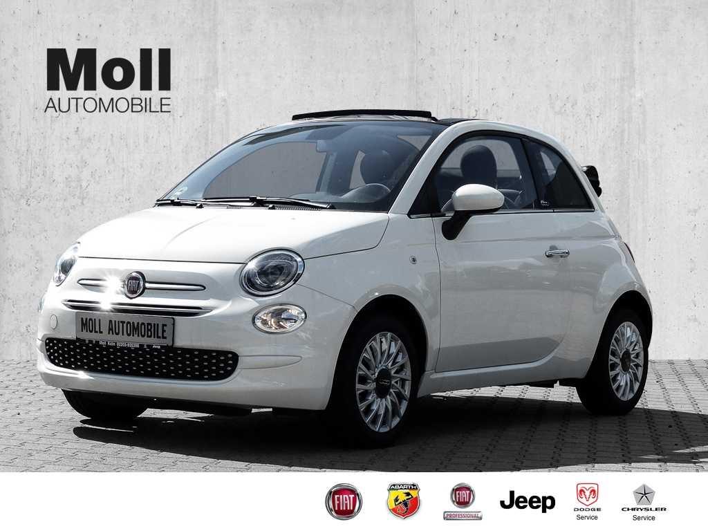 Fiat 500C 1.2 Serie 7 Lounge City Paket Dach Schwarz '2020', Jahr 2020, Benzin