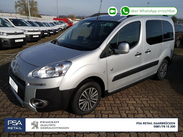 Peugeot Partner Tepee Outdoor 1,6HDi FAP115PS Navi SHZ PDC , Jahr 2015, Diesel