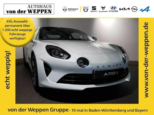 Renault Alpine A110 S 292PS - sofort verfügbar VOLL, Jahr 2019, Benzin