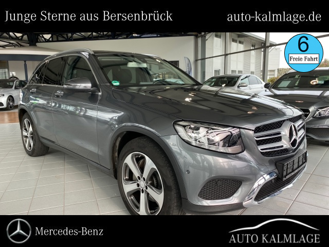 Mercedes-Benz GLC 220d 4M Exclusive AHK+Park-Assist+Navigation, Jahr 2016, Diesel