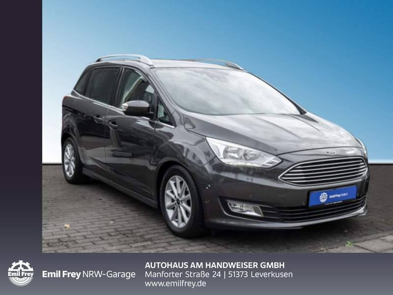 Ford Grand C-Max 1.5 EcoBoost Start-Stopp-System Titanium, Jahr 2016, Benzin