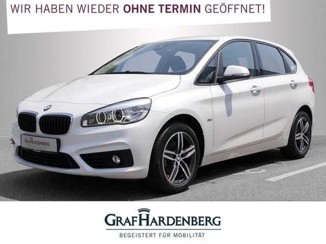 BMW 216i Active Tourer Sport Line LED Rückfahrkamara, Jahr 2016, Benzin