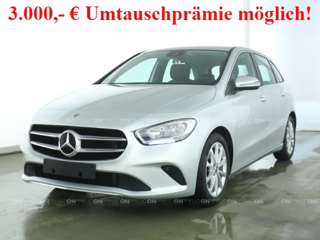 Mercedes-Benz B 180 Progressive+7G-DCT+Navi Pre+AHK+Business-P, Jahr 2019, Benzin