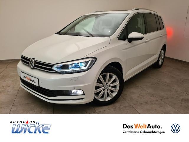 Volkswagen Touran 1.4 TSI DSG Highline Klima Navi ACC LED, Jahr 2018, Benzin