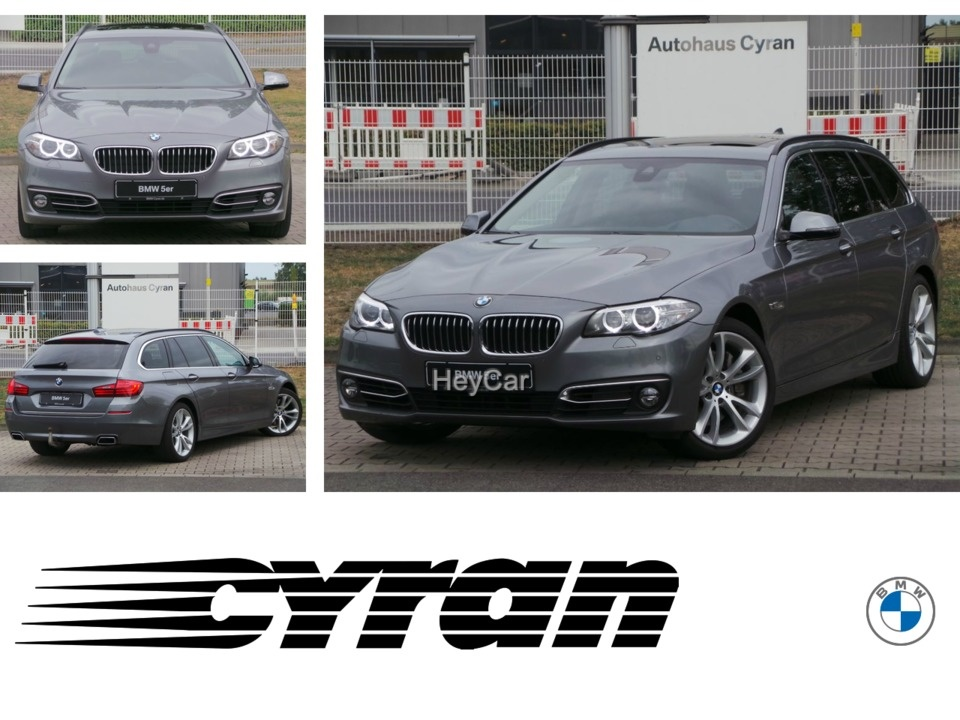 BMW 535d Touring Luxury Line Standhzg Soft-Close HUD, Jahr 2014, Diesel