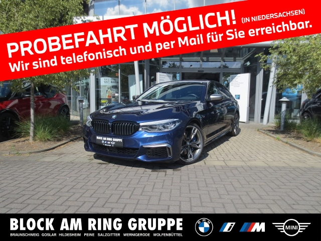 BMW M550i xDrive Limousine AHK GSD HUD DA+ PA+, Jahr 2017, Benzin