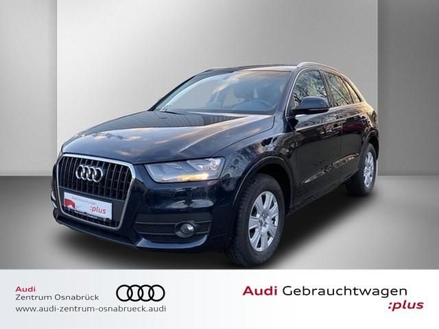 Audi Q3 2.0 TDI AHK APS Glanz-Paket SHZ GRA, Jahr 2013, Diesel