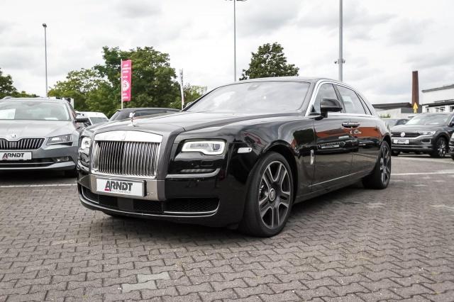 Rolls-Royce Ghost Series II EWB LED Nightview Pano HUD 360, Jahr 2016, petrol