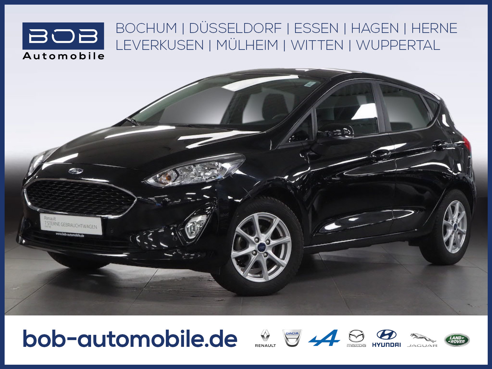 Ford Fiesta COOL&Connect-Kamera, Carpaly Android A SH, Jahr 2018, Benzin