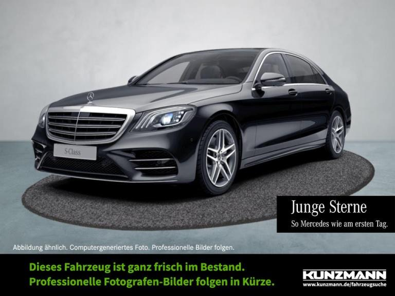 Mercedes-Benz S 450 4M L AMG Comand LED Panorama 360° Airmatic, Jahr 2019, Benzin