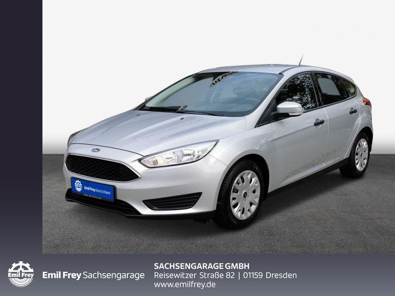 Ford Focus 1.6 Ti-VCT Trend Klimaanlage wenig KM, Jahr 2017, Benzin