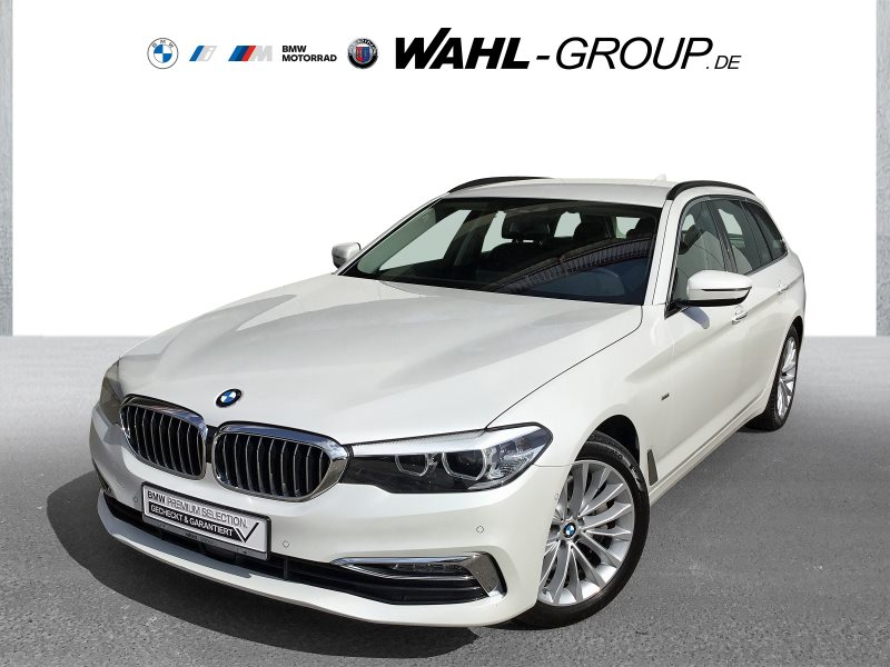 BMW 540i xDrive Touring Luxury Line WLAN Navi Prof., Jahr 2018, Benzin