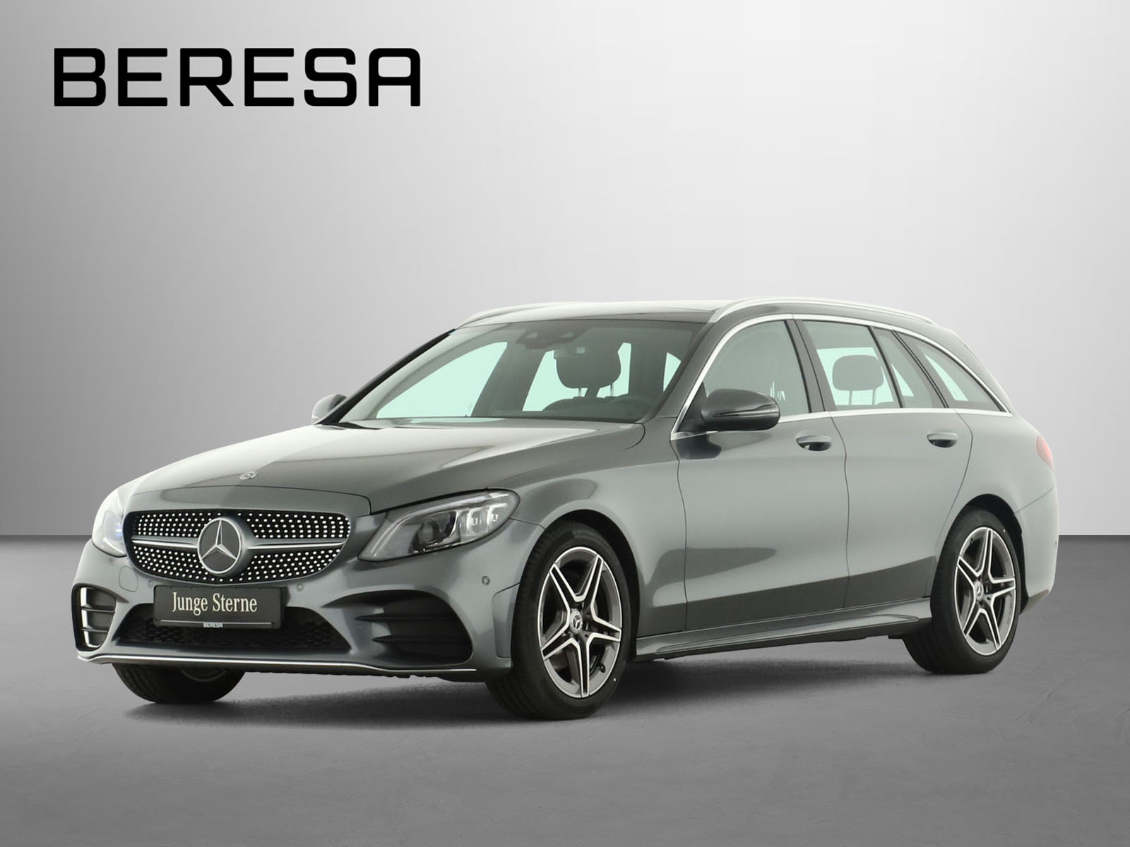 Mercedes-Benz C 180 T AMG Pano.-Dach Spur-P. LED AHK Kamera, Jahr 2020, Benzin