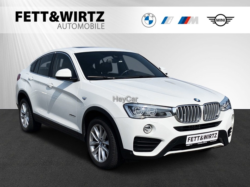 BMW X4 xDrive30d Adv. NaviProf. Standhzg. AHK GSD, Jahr 2016, Diesel