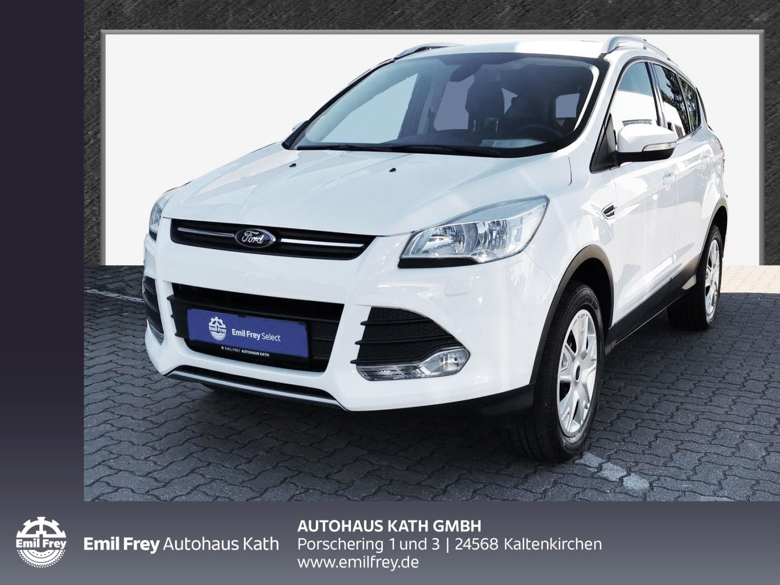 Ford Kuga 1.6 EcoBoost 2x4 Trend Sitzhzg AHK, Jahr 2014, Benzin