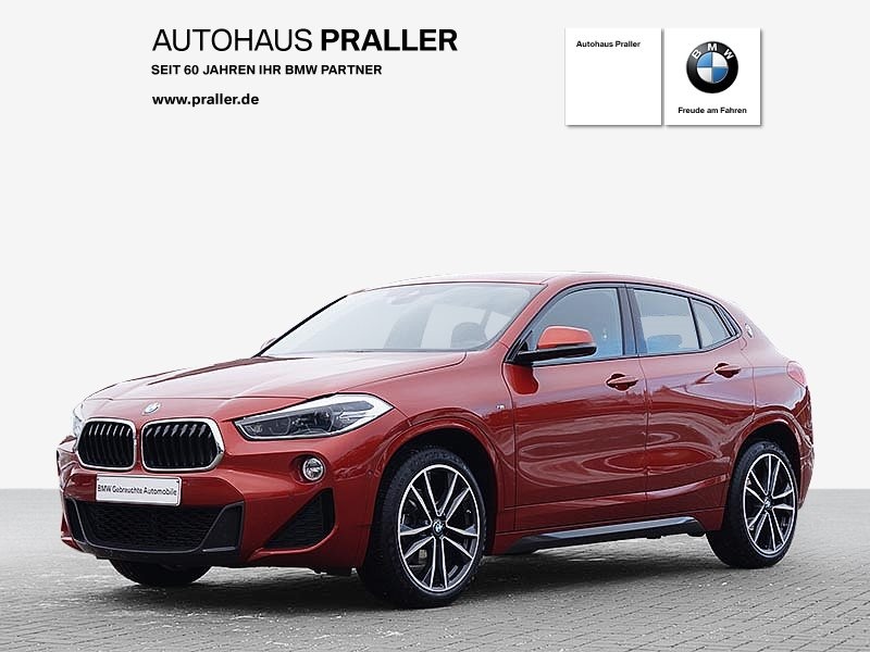 BMW X2 xDrive18d M Sportpaket Head-Up LED Sitzheizung Tempomat, Jahr 2018, Diesel