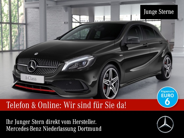 Mercedes-Benz A 250 AMG Harman LED Night Kamera Navi PTS 7G-DCT, Jahr 2018, Benzin