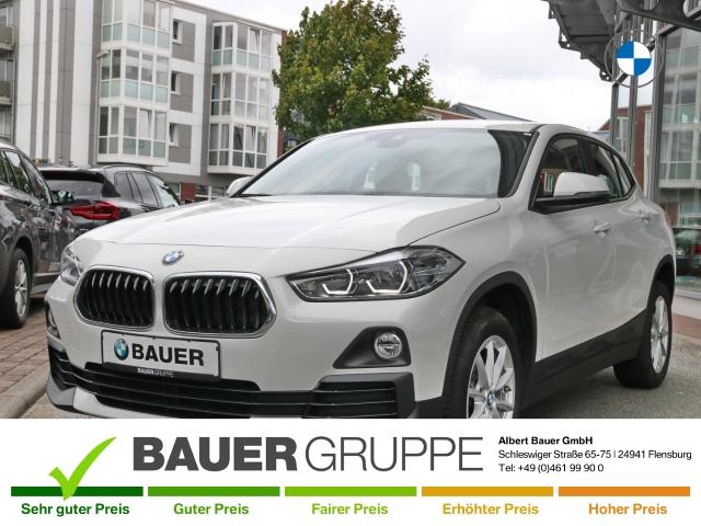 BMW X2 sDrive18d Advantage EU6d-T LED Navi Keyless HUD ACC Rückfahrkam. Fernlichtass. El. Heckklappe, Jahr 2018, Diesel