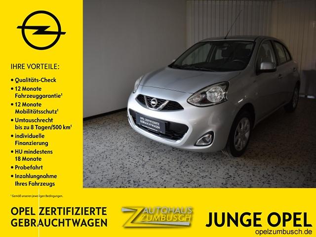 Nissan Micra Acenta, Klima, Radio, WinterrÀder, uvm, Jahr 2014, Benzin