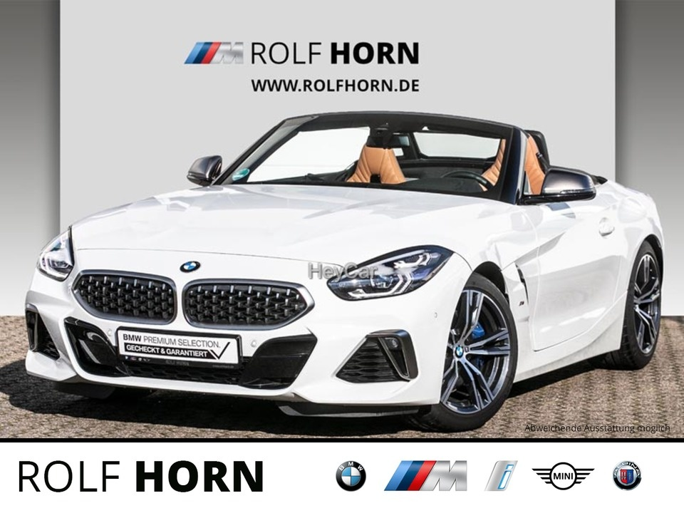 BMW Z4 M40i Cabrio Autom. HUD DAB H&K Leder LED, Jahr 2020, Benzin