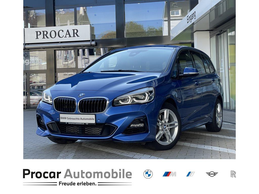 BMW 218i Gran Tourer M Sport LED PA PDC Navi HiFi, Jahr 2018, Benzin
