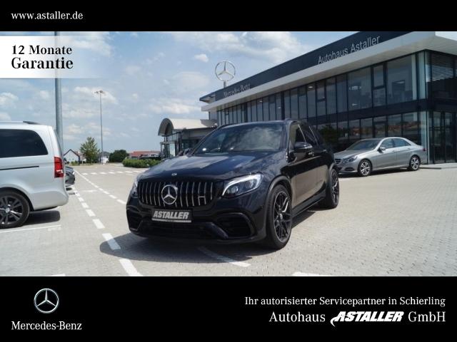 Mercedes-Benz GLC 63 AMG S 4M Drivers+Pano+AbGas+Comand+Night, Jahr 2018, Benzin