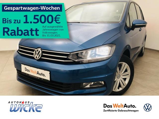 Volkswagen Touran 1.4 TSI Comfortline ACC Klima 7.Sitzer, Jahr 2016, Benzin