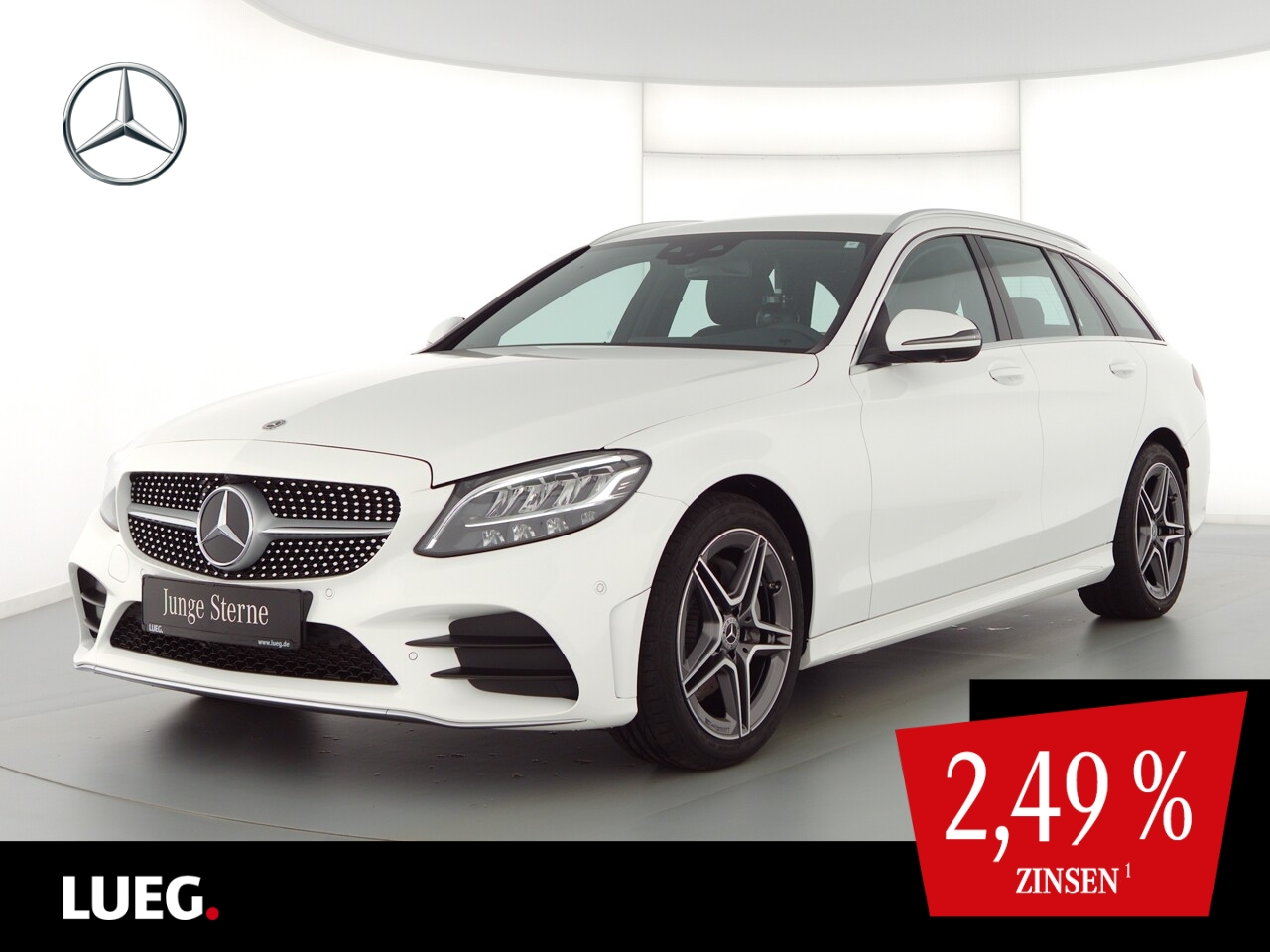 Mercedes-Benz C 220 d T AMG+COM+LED-HP+Sthzg+SpurPk+EHeck+360°, Jahr 2020, Diesel