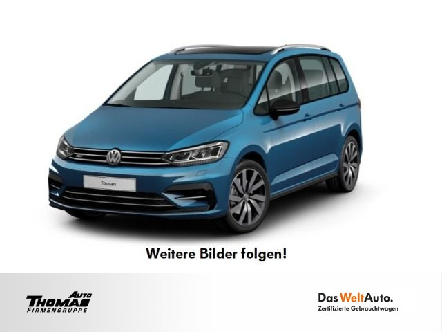 "Volkswagen Touran ""IQ.DRIVE"" R-Line 1.5 TSI DSG LED+PANO, Jahr 2019, petrol"