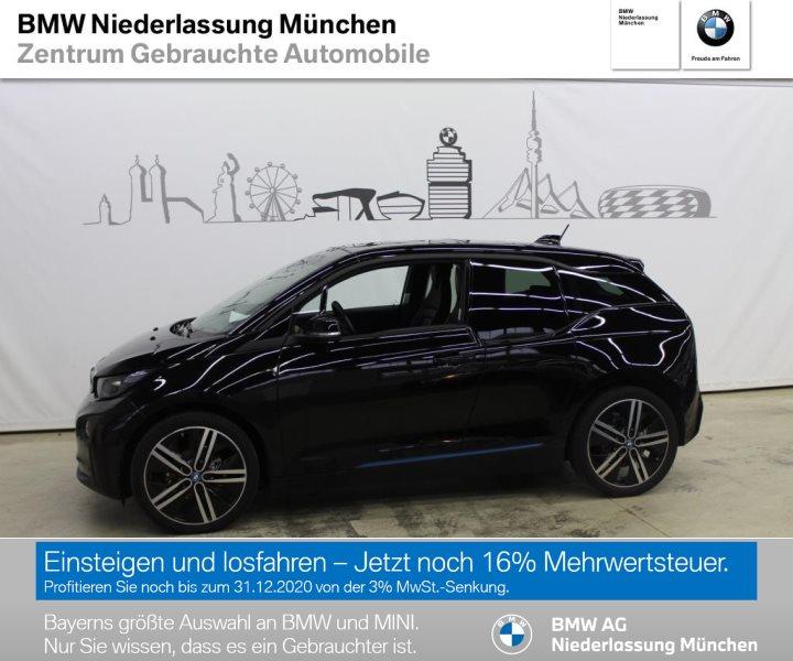BMW i3 .94Ah DAB LED GSD RFK Navi Prof. RTTI Shz, Jahr 2017, Elektro
