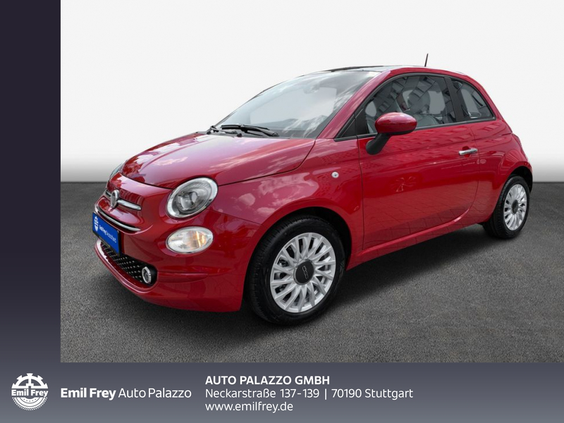 Fiat 500 1.0 Hybrid Lounge 70PS, Jahr 2021, Hybrid