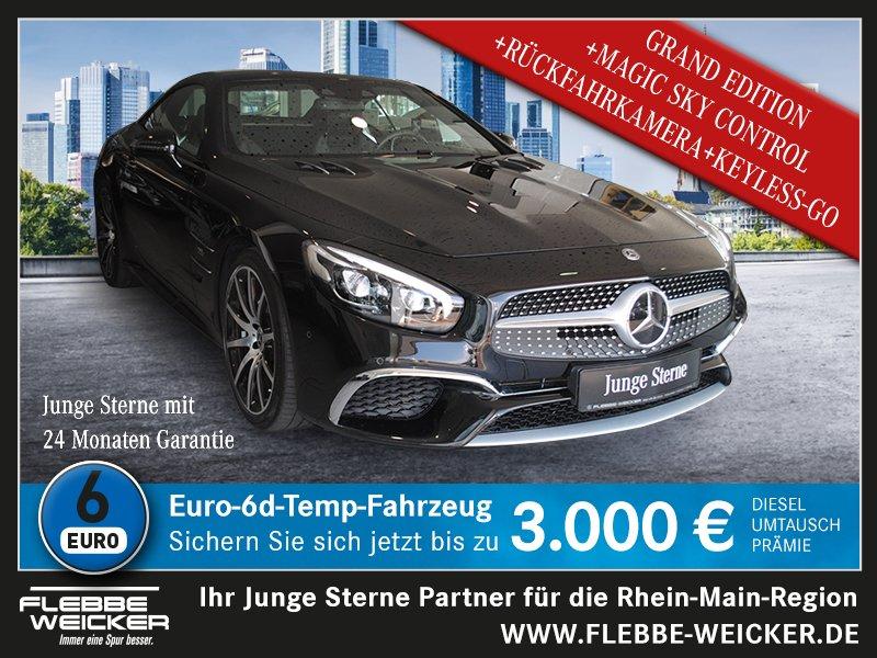 Mercedes-Benz SL 400+GRAND EDITION+AMG+MAGIC-SKY+HARMAN-KARDON, Jahr 2019, petrol