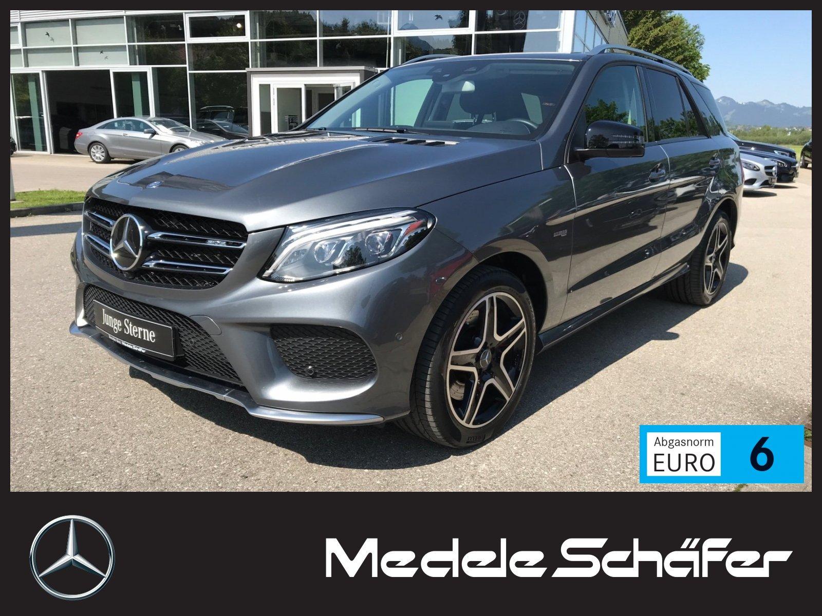 Mercedes-Benz GLE 43 AMG 4M Air Dist Com AHK Memo 360 Sitzklim, Jahr 2017, petrol