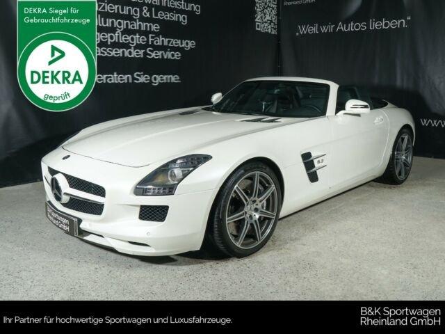 Mercedes-Benz SLS AMG Roadster designo/Airscarf/Totwinkel, Jahr 2012, Benzin